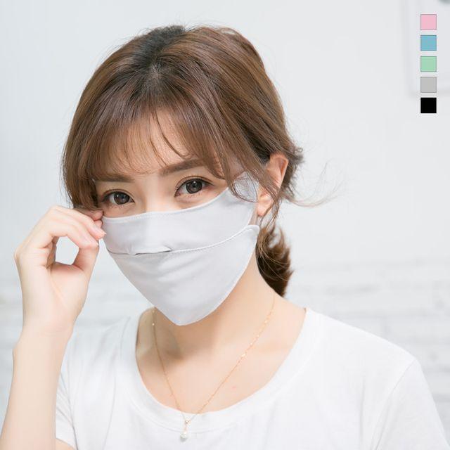 W 키밍 쿨 자외선차단 숨쉬기편한 마스크 여름