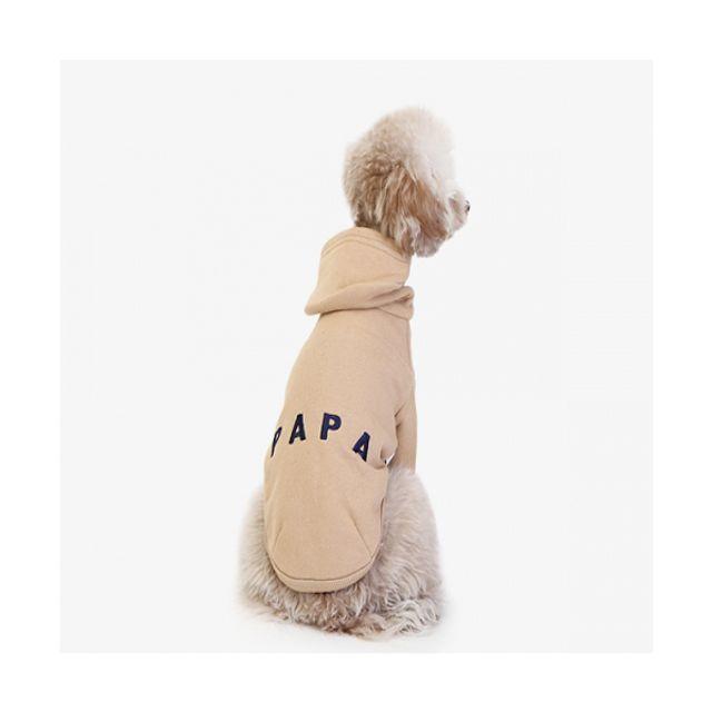 강아지옷 애견조끼 에이후디 브라운