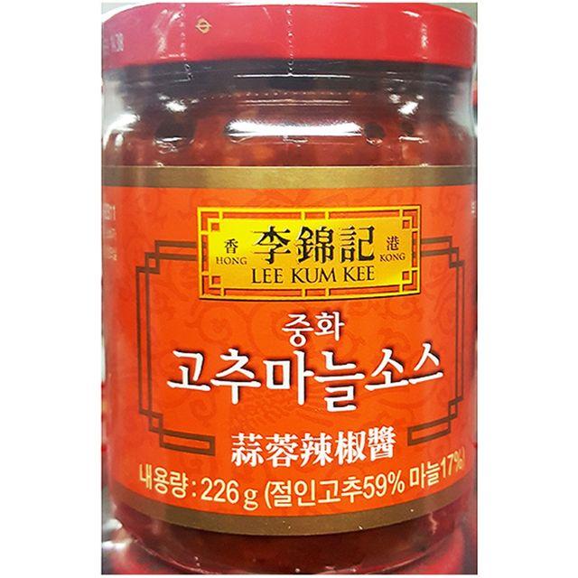 식재료 고추마늘소스(이금기 226g)