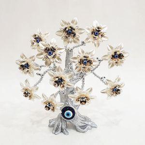 흰꽃 행운목 장식소품B4-013