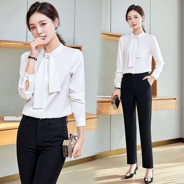 [해외] 여성 패션 재킷 자켓 정장세트복 정장 봄과 가을
