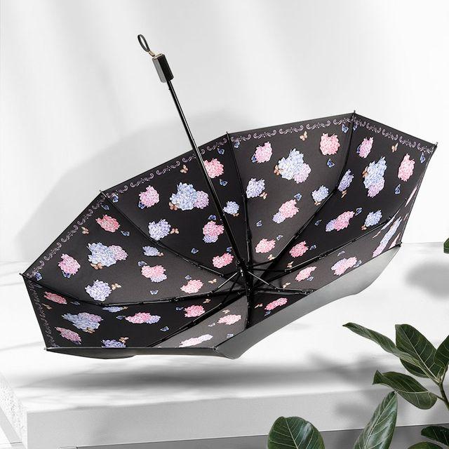 [해외] 패션소품 양산 방수 방풍 린 접는 이중 사용 우산