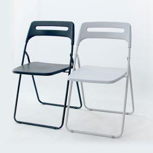 폴딩 사각 멀티체어 의자 단체석 회의용 공연 접이식