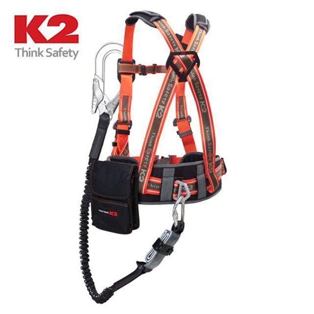 K2 상체식벨트 KB-9102(OR) 016957 안전벨트