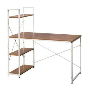 H형 모던 수납 서랍형 서재 다용도 DIY 책상