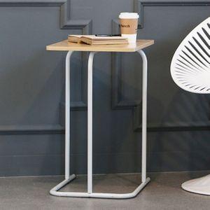 이지 소파 테이블 거실 사이드 테이블 협탁 화이트