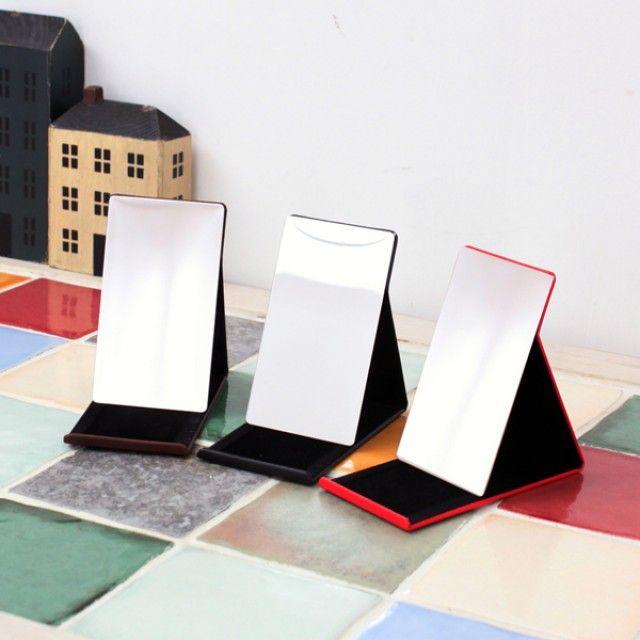 빠띠라인 포켓용 알루미늄 거울 대 3종택1 [제작 대량 도매 로고 인쇄 레이저 마킹 각인 나염 실크 uv 포장 공장 문의는 네이뽕]