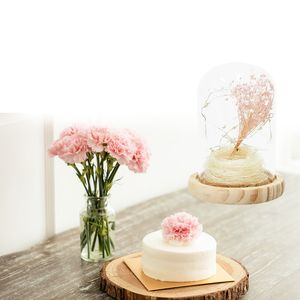 LED 꽃무드등M_사랑 인테리어 선물 드라이플라워 부케