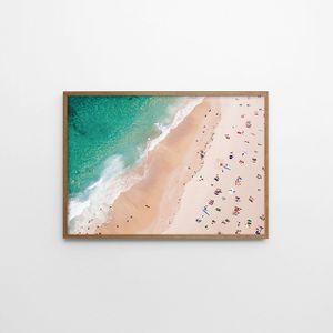 아트 포스터(BEACH) 해변 풍경사진 포토그래피 전시품