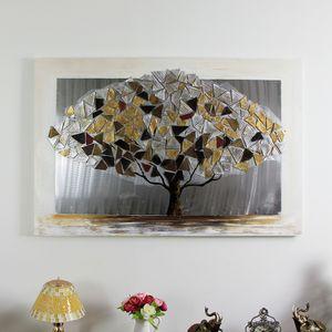 알루미늄 돈나무 특대 캔버스 유화 벽걸이 그림액자
