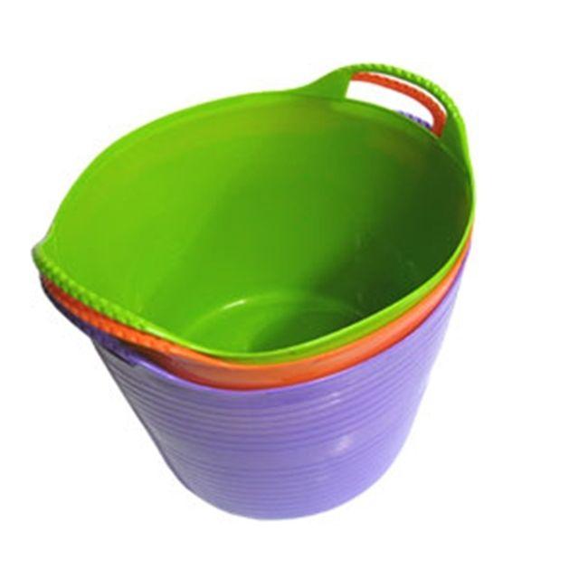 소프트 빨래바구니 원형 (중) 빨래 수납 목욕 정리 [제작 대량 도매 로고 인쇄 레이저 마킹 각인 나염 실크 uv 포장 공장 문의는 네이뽕]