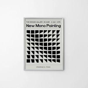종이 포스터(SQUARES) 일러스트 전시용 사진 홈갤러리
