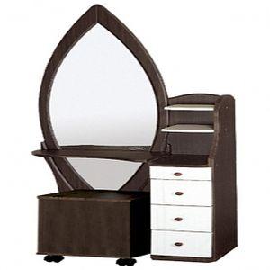 (리퍼퍼니쳐)전신튤립화장대세트 화장대 화장대세트 거울화장대 입식화장대 목재화장대