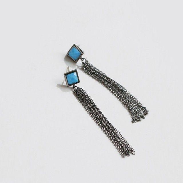 韩国直邮 (银针)时尚 耳环