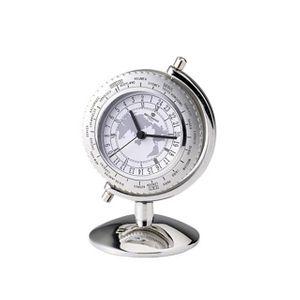 인테리어시계 월드타임4 알람 탁상시계