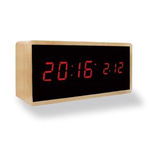 나비 우드 디지털 탁상 시계 전자시계 인테리어