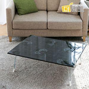 로즈 하이그로시 사각 테이블 800X600