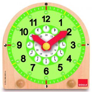 나무시계 나무시계 과학교구 학습용교구 나무시계