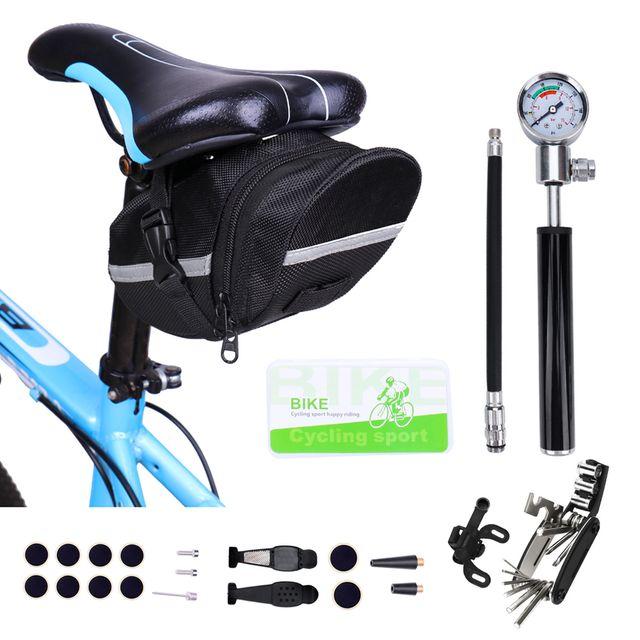 W 키밍 22종 자전거 휴대용 공구세트 폴딩공구 파우치