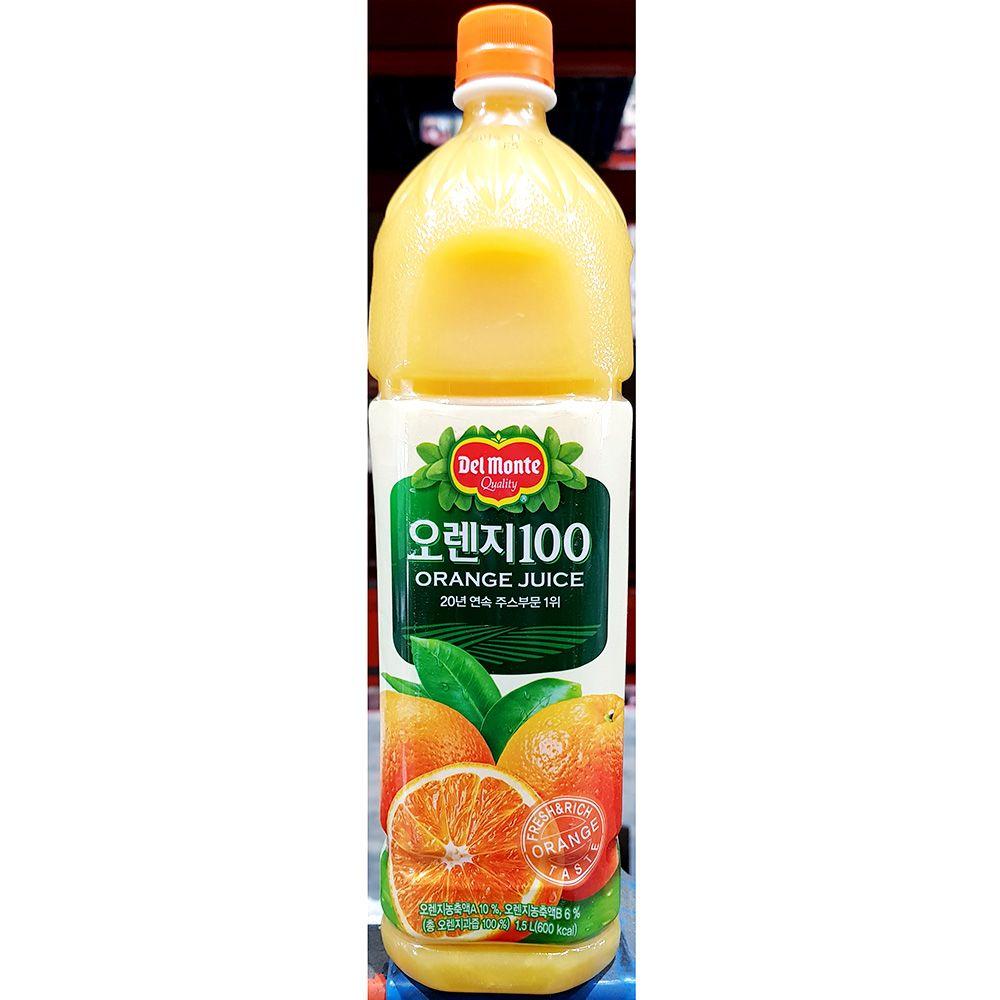 오렌지 주스 델몬트 1.5L x6개 음료수 업소 식당용
