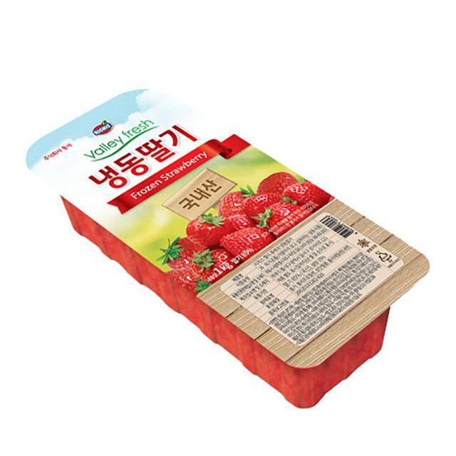 가당 겨울과일 냉동딸기 1kg