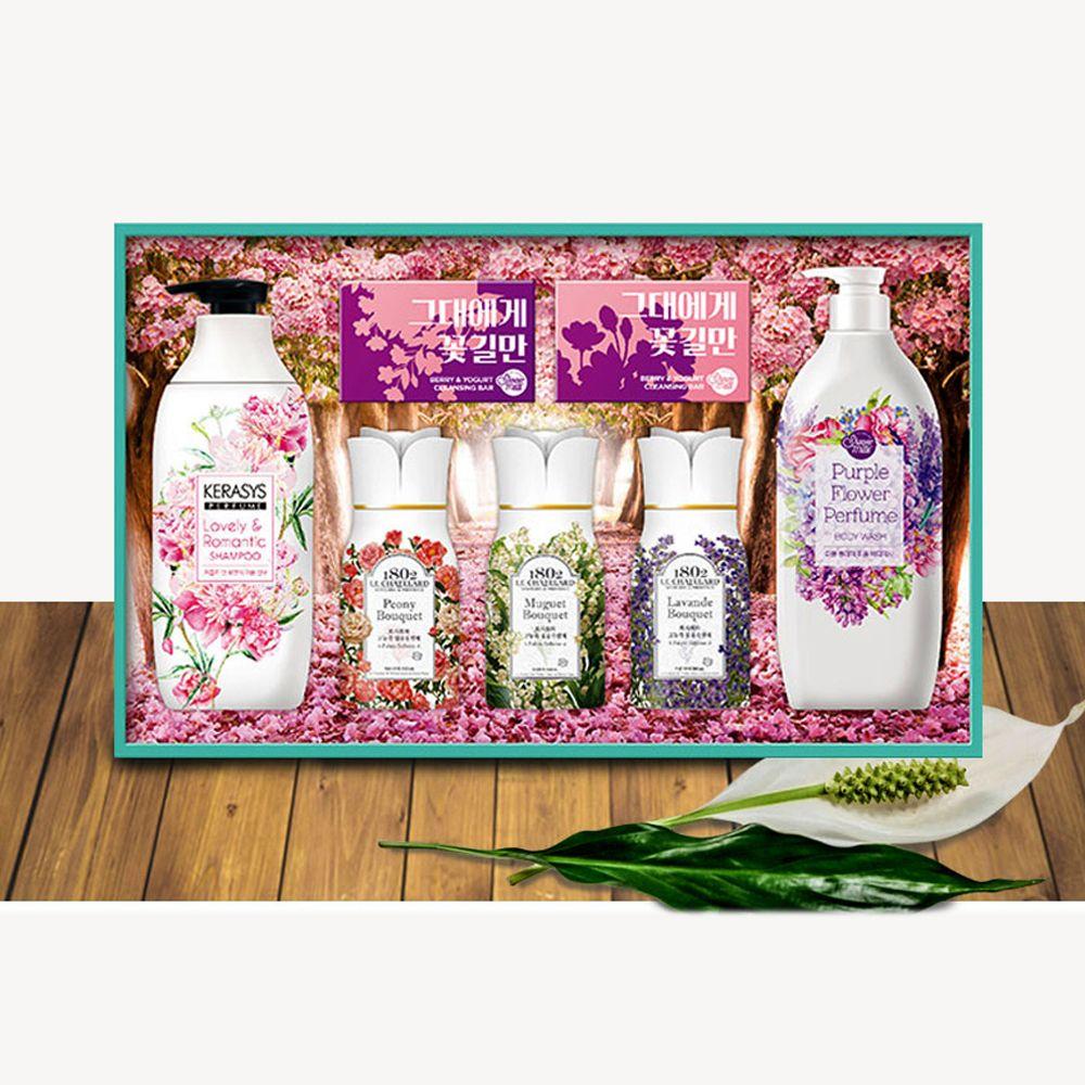 애경 향기가득 퍼퓸샴푸 린스 명절 선물세트