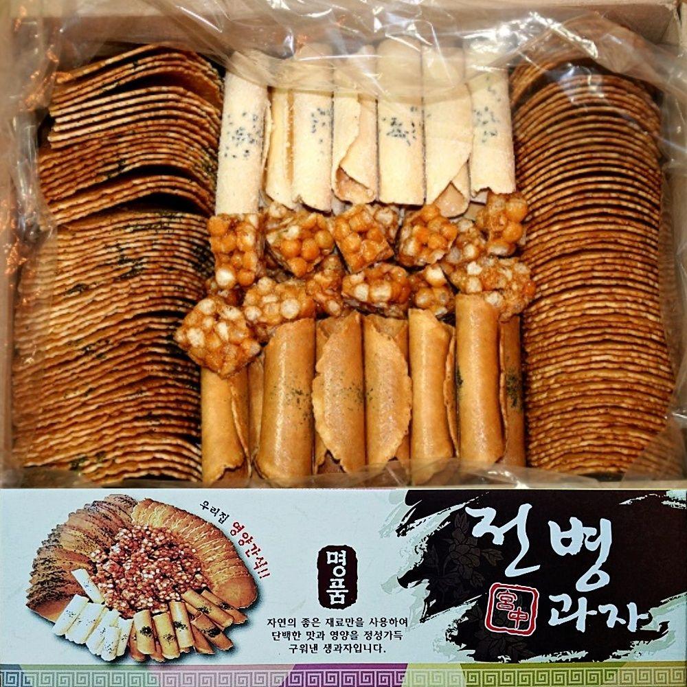 센베과자 삼베과자 전통과자 선물세트 1.5kg 1박스