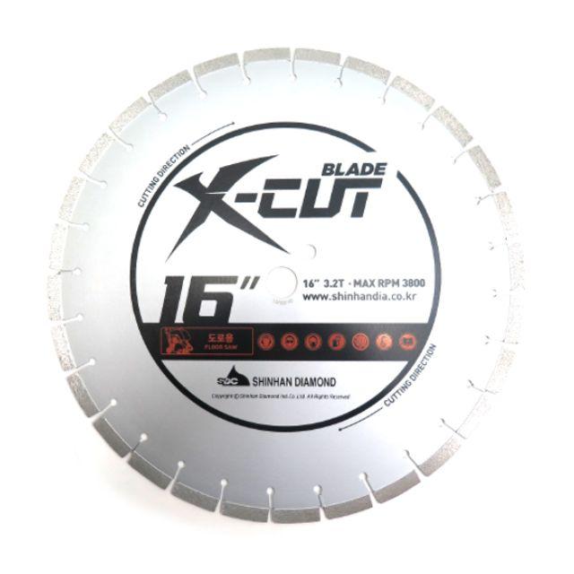 콘크리트쏘 X-cut 16in.x3.2T (도로용) 콘크리트절단