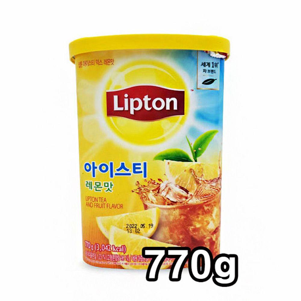 립톤 아이스티 믹스 770g 레몬맛 아이스차 홍차