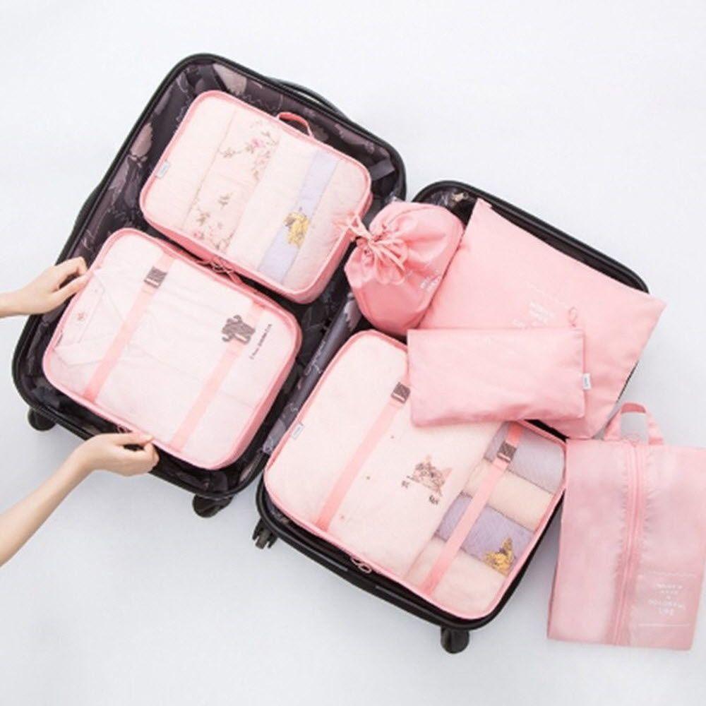 미니 파우치 대형 가방 여행 캐리어 짐싸기 7종 세트