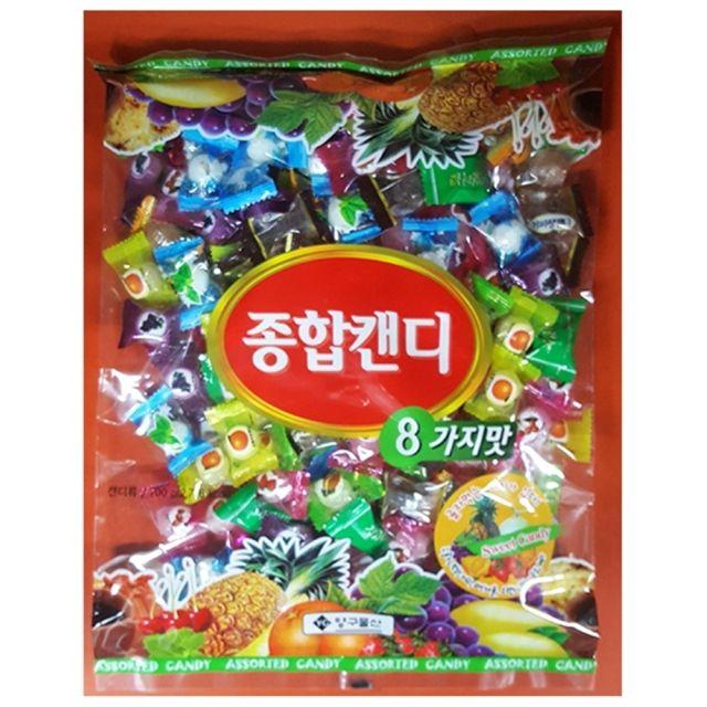 양구 맜있는 종합 사탕 업소용 700g 1봉