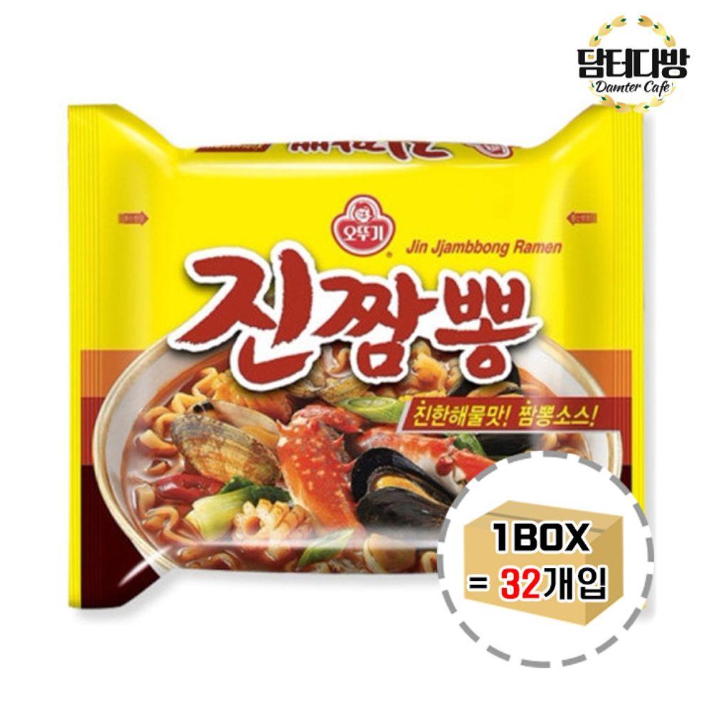 오뚜기 진짬뽕 1BOX (32봉)
