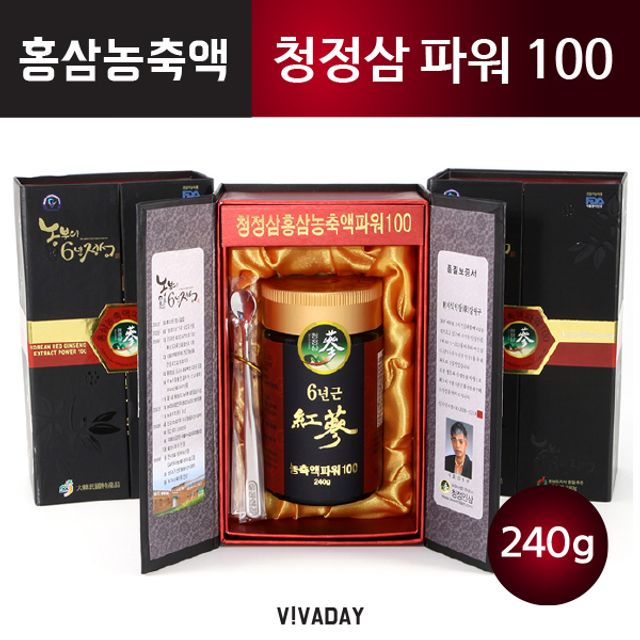 청정삼 홍삼농축액 파워100 - 240g