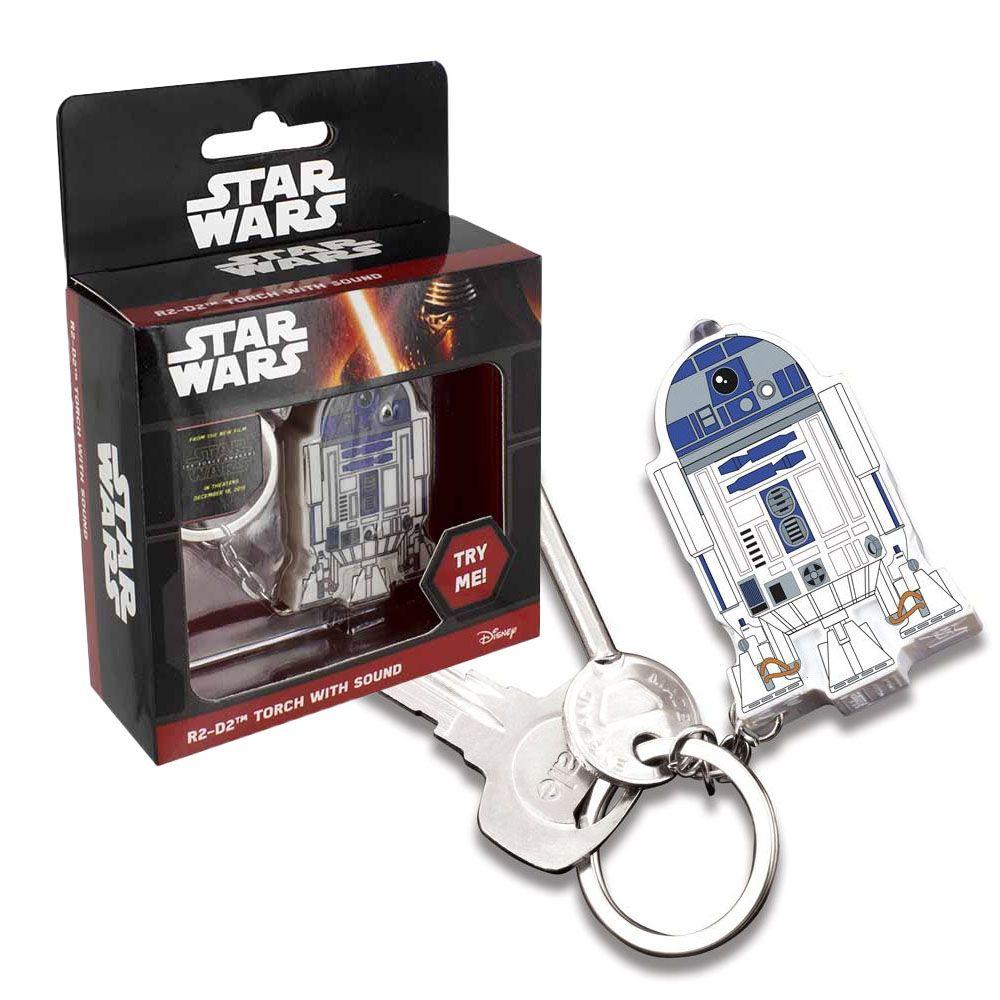 스타워즈 R2D2 사운드 후레쉬 열쇠고리