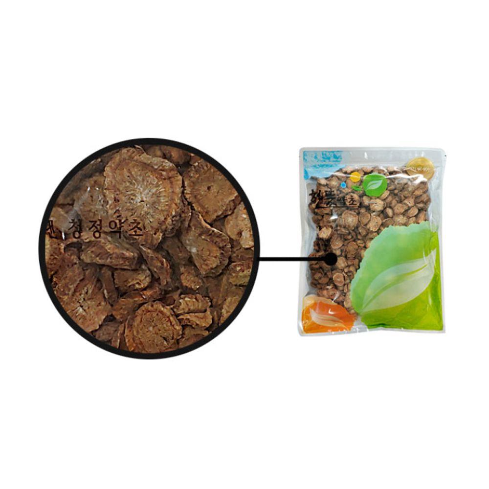 원물 우엉(국내산) 600g 고급 지퍼백 포장