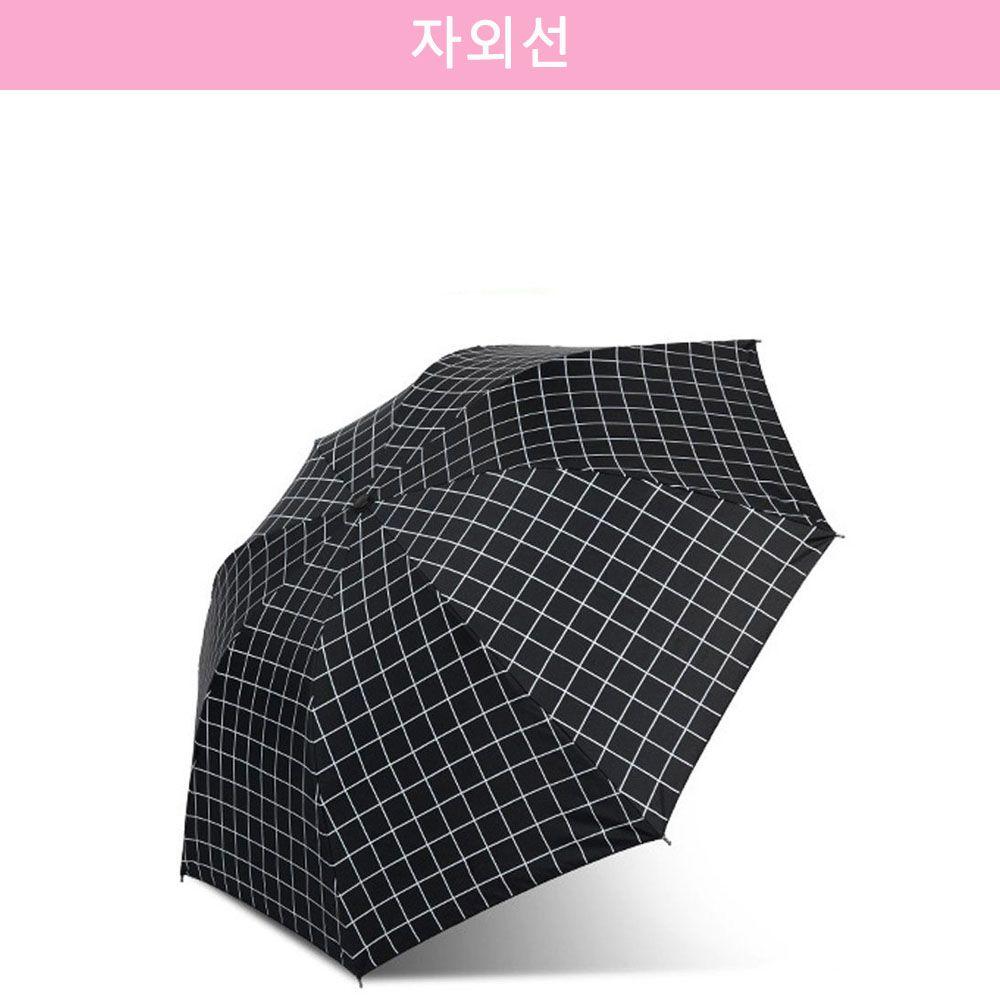 자외선 차단 유럽풍 암막 양산/우산 블랙