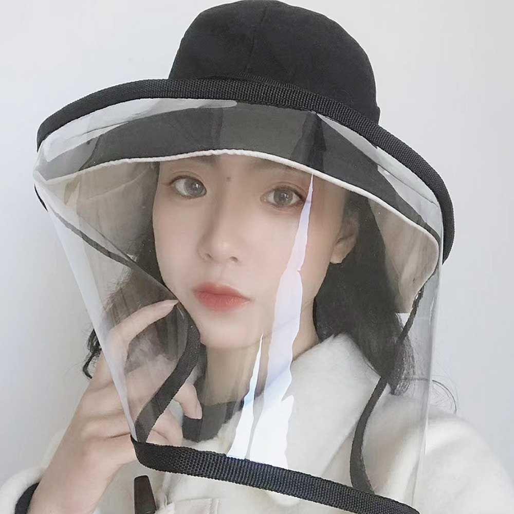 (안면보호커버)코로나 예방 마스크 방역 모자 유아 아동 벙거지 안면보호커버