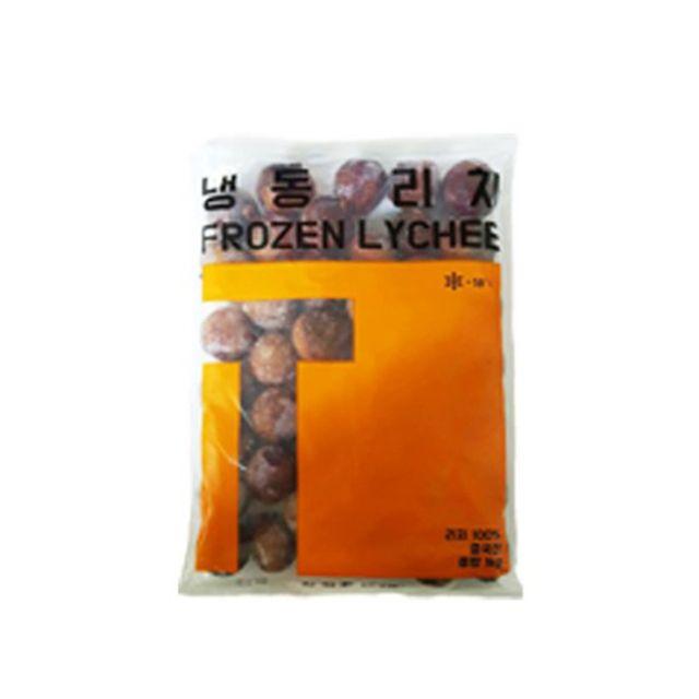냉동리치 1kg 냉동과일_망고스틴 딸기 람부탄 키위