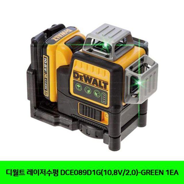 디월트 레이 저수평 DCE089D1G(10.8V/2.0)-GREEN 1EA