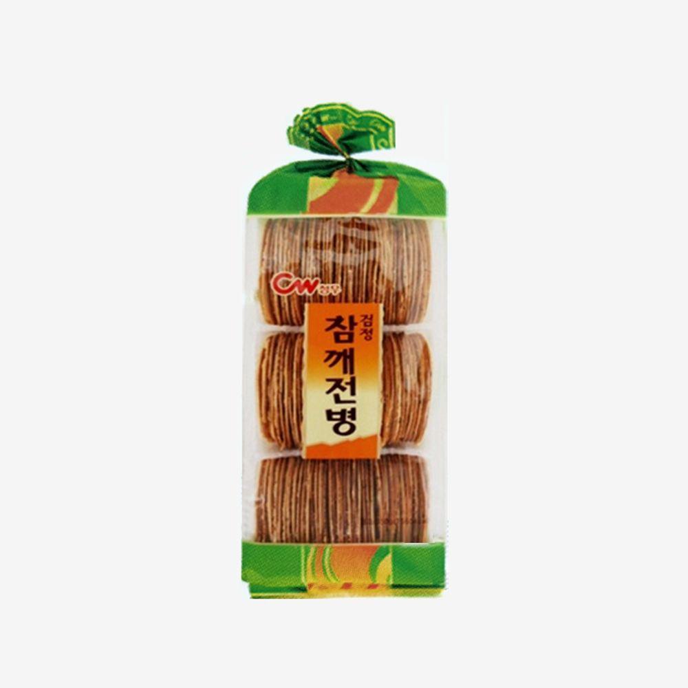 청우 간식 참깨전병 350g 10ea 1 BOX