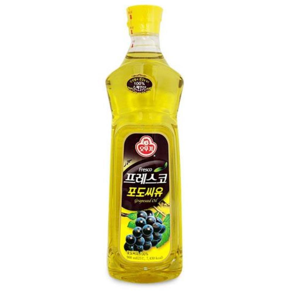 스페인산 압착포도씨유 900ml 고급포도씨유 튀김용