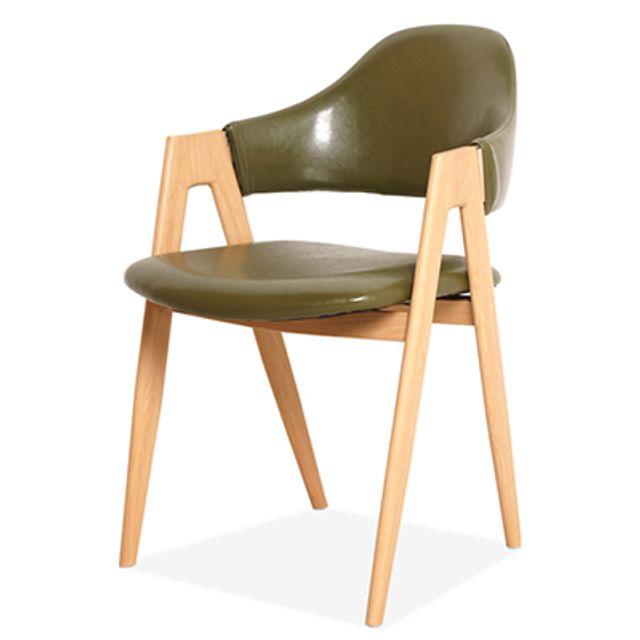 등받이 의자 Y2022-3 카페 인테리어 사무실 회의실-카키