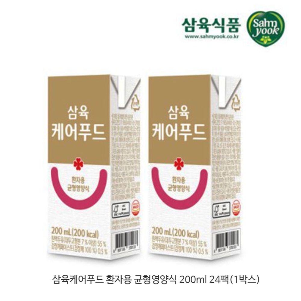 삼육케어푸드-균형영양식 24팩