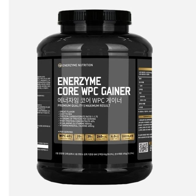 헬스 단백질 보충제 근육 벌크업 WPC 게이너 4kg