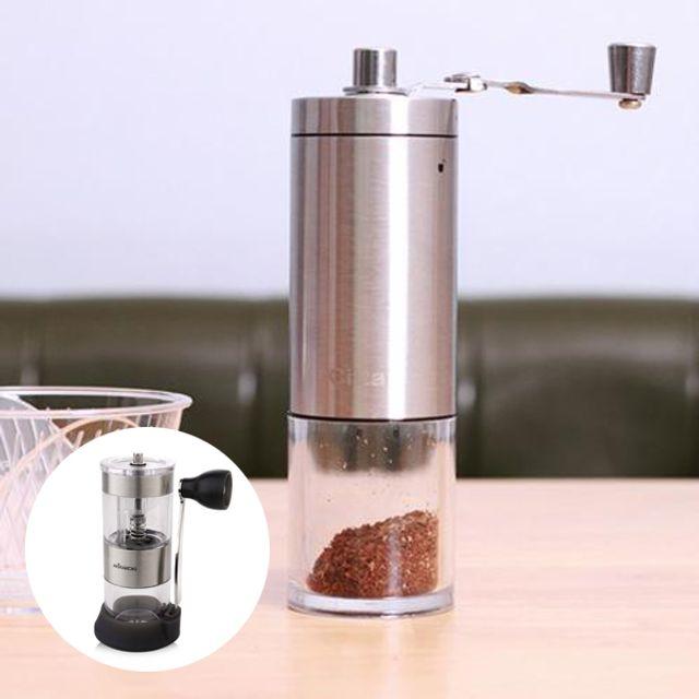 핸드드립 세라믹 슬림 휴대용 접이식 핸드밀 그라인더 커피분쇄 커피분쇄기