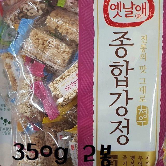 옛날애 전통맛 종합강정 350g 2봉