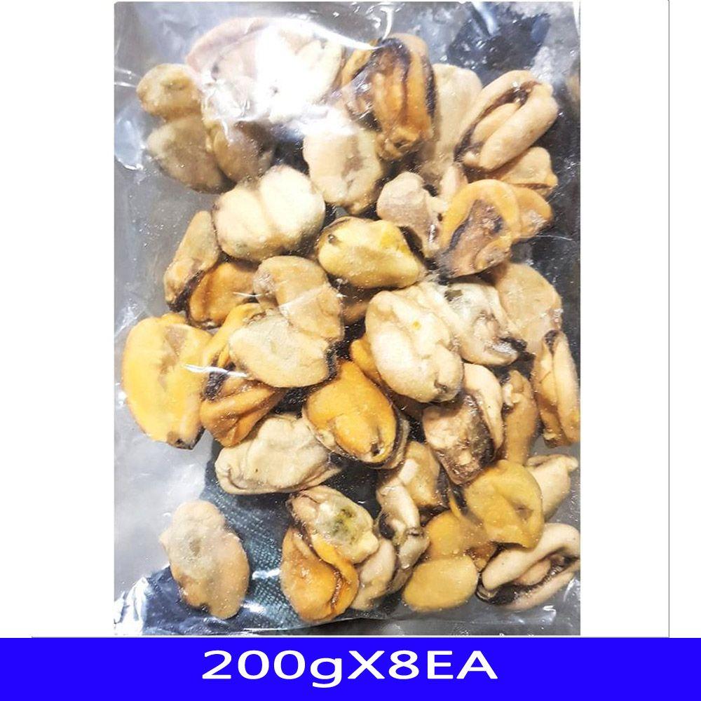 냉동수산물 냉동홍합살 음식재료 RIZHAO 200gX8EA