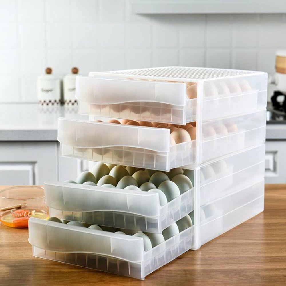 키밍 서랍식 냉장고 계란 케이스 보관함 트레이