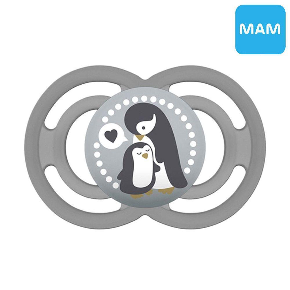 MAM 노리개젖꼭지 P 펭귄 가족 (6개월이상)