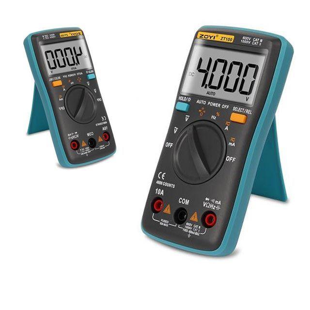 디지털 전류 테스터기 휴대용 멀티 전기 전압 측정기